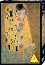 Gustav Klimt - Der Kuss. Puzzle 1000 Teile