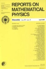 Reports on Mathematical Physics 63/2 2009