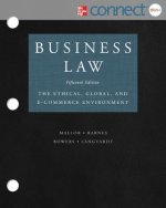 Business Law with ConnectPlus Access: The Ethical Global, and E-Commerce Environment