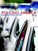 Policing America: Challenges and Best Practices Plus Mycjlab with Pearson Etext -- Access Card Package
