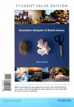 Economic Analysis of Social Issues, Student Value Edition Plus Myeconlab with Pearson Etext (1-Semester Access) -- Access Card Package