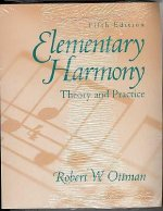 Elementary Harmony: Theory and Practice with CD