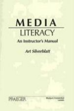 Media Literacy: An Instructor's Manual