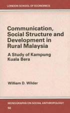 Communication, Social Structure and Development in Rural Malaysia: A Study of Kampung Kuala Bera