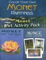 Monet Art Activity Pack [With StickersWith Tattoos]