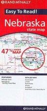 Rand McNally Easy to Read! Nebraska State Map