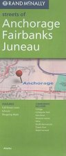Rand McNally Streets of Anchorage/Fairbanks/Juneau
