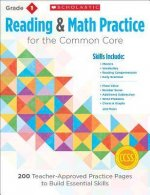 Reading and Math Practice, Grade 1: 200 Teacher-Approved Practice Pages to Build Essential Skills