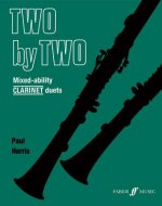 Two by Two Mixed-ability Clarinet Duets