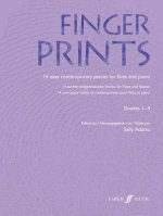 Fingerprints: Flute/Piano: 14 Easy Contemporary Pieces for Flute and Piano