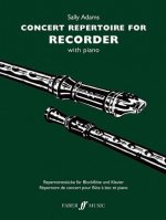 Concert Repertoire for Recorder with Piano
