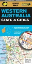 Western Australia State & Cities 1 : 2 900 000