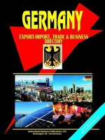 Germany Export-Import and Business Directory