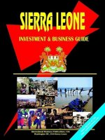 Sierra Leone Investment and Business Guide