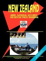New Zealand Army, National Security and Defense Policy Handbook