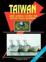 Taiwan Army, National Security and Defense Policy Handbook