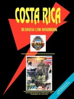 Costa Rica Business Law Handbook