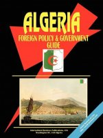 Algeria Foreign Policy and Government Guide