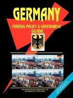Germany Foreign Policy and Government Guide