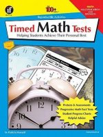 Timed Math Tests, Multiplication and Division: Helping Students Achieve Their Personal Best