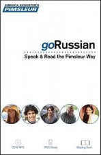 Pimsleur goRussian: Speak & Read the Pimsleur Way [With Book(s) and MP3]