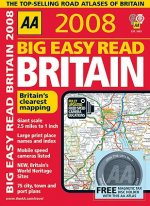 AA Big Easy Read Britain [With Magnetic Tax Disc Holder]