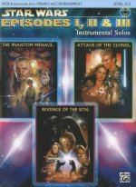 Star Wars Episodes I, II & III Instrumental Solos for Strings: Viola, Book & CD