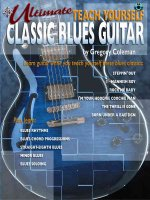 Ultimate Teach Yourself Classic Blues Guitar: Book & CD