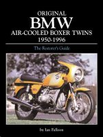 Originaly BMW Air-Coooled Boxer Twins 1955-1995