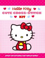 Hello Kitty Cute Cross-Stitch Kit [With Two Needles, 5 Colored Skeins and Pattern(s)]