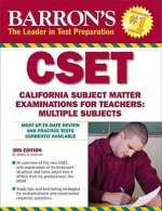 Barron's CSET: California Subject Matter Examinations For Teachers: Multiple Subjects