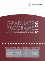 Graduate Programs in the Physical Sciences, Mathematics, Agricultural Sciences, the Environment & Natural Resources 2015