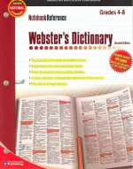 Notebook Reference Webster's Dictionary: Grades 4-8