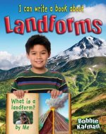 I Can Write a Book about Landforms