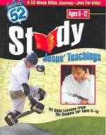 Study Jesus' Teachings: 52 Bible Lessons from the Gospels for Ages 8-12