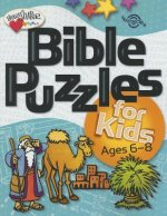 Bible Puzzles for Kids: Ages 6-8