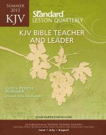 KJV Bible Teacher and Leader