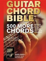 Guitar Chord Bible: 500 More Chords: For Rock, Pop, Folk, Blues, Country, Jazz, and Classical