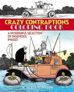 Crazy Contraptions Coloring Book