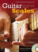 The Complete Book of Guitar Scales: For Rock, Blues, Jazz, Fusion, Metal, Country, and Beyond