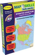 Map Skills: North America Iwb: Ready-To-Use Digital Lesson Plans