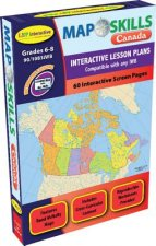 Map Skills: Canada Iwb: Ready-To-Use Digital Lesson Plans