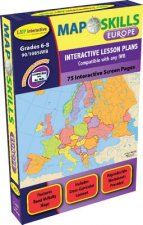 Map Skills: Europe Iwb: Ready-To-Use Digital Lesson Plans