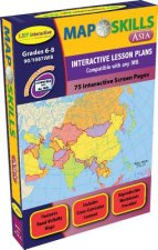 Map Skills: Asia Iwb: Ready-To-Use Digital Lesson Plans