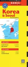 Periplus: Korea & Seoul Country Map