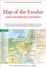 Map of the Exodus and Wilderness Journey: The 42 Camp Sites Organized and Illustrated for the First Time in History