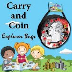 Carry and Coin Explorer Bags
