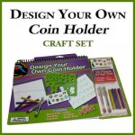 Design Your Own Coin Holder Craft Set