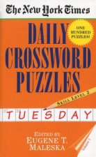 New York Times Daily Crossword Puzzles (Tuesday), Volume I