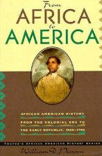 African American History Series: From Africa to America: African American History from the Colonial Period to the Early Republic, 1600-1790 (Cloth Cov